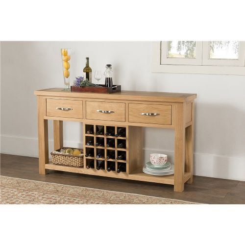 Valencia Open Sideboard with wine rack